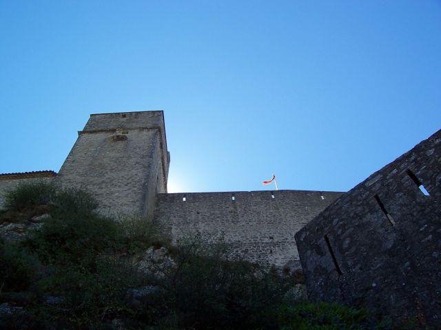 Zdjęcia: Cytadela w Sisteron, Prowansja, Sisteron, FRANCJA