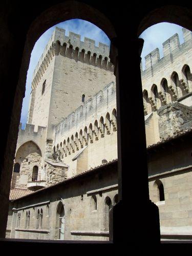 Zdjęcia: Avignon, Palais des Papes, Prowansja, Pałac Papieży, FRANCJA
