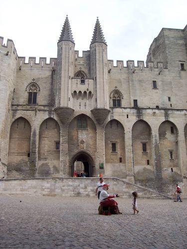 Zdj�cia: Avignon, Prowansja, Palais des Papes, FRANCJA