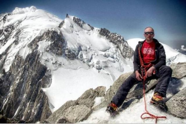 Zdjęcia: Szczyt Mont Blanc du Tacul, Masyw Mont Blanc, Mont Blanc du Tacul, FRANCJA