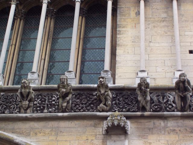 Zdjęcia: Dijon, Burgundia, gargulce, FRANCJA