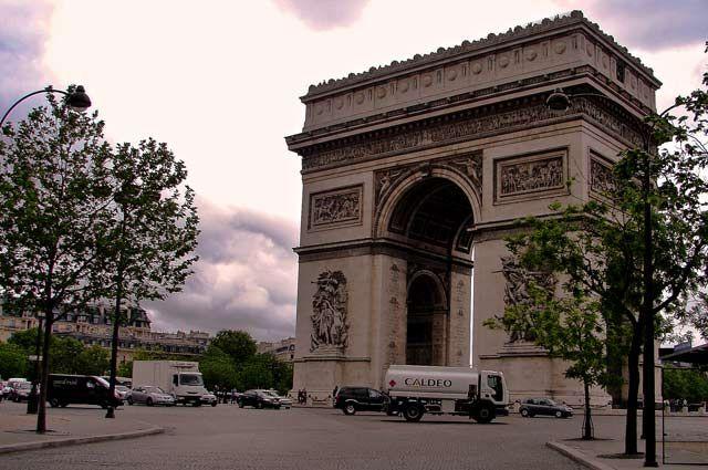 Zdjęcia: Paryż Łuk Triumfalny, Paryż, ..., FRANCJA