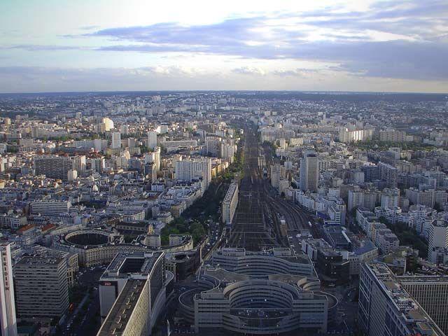 Zdjęcia: Paryż , Paryż, Paryż widziany z lotu ptaka, FRANCJA