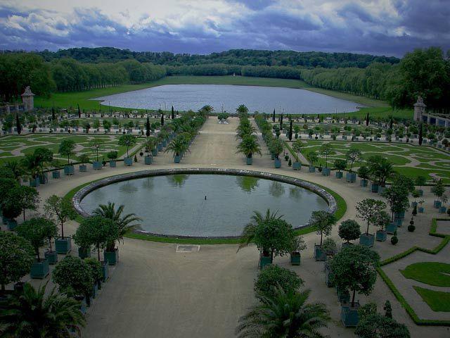 Zdjęcia: Paryż -ogrody Wersalu, Paryż,  spacer po królewskich ogrodach., FRANCJA