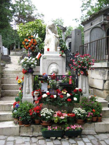 Zdj�cia: Cmentarz Pere Lachaise , Pary�, FRANCJA