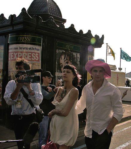 Zdj�cia: podczas festiwali filmowego na Lazurowym Wybrze�u Cannes., Prowansja , gwiazd� byc ;), FRANCJA