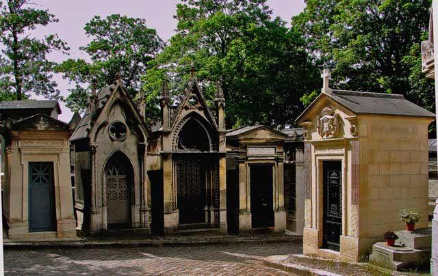 Zdj�cia: Cmentarz Pere Lachaise, Pary�, Cmentarz Pere Lachaise, FRANCJA