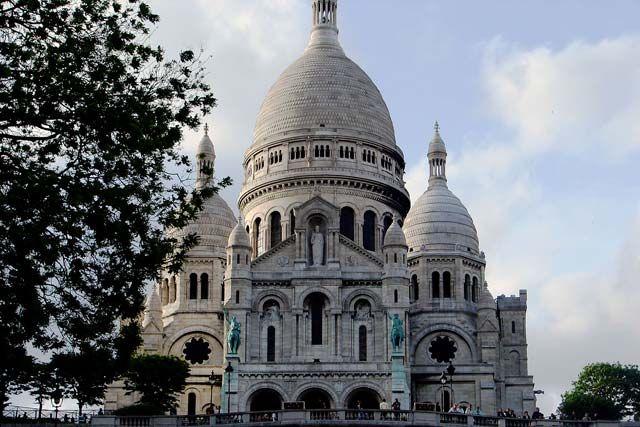 Zdj�cia: Bazylika Sacre-Coeur , Pary�, Bazylika Sacre-Coeur , FRANCJA