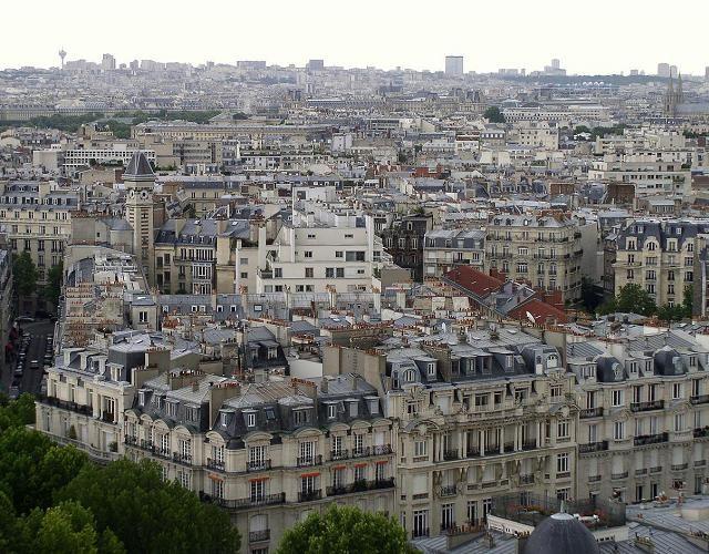 Zdjęcia: Paryż, paryskie kamienice, FRANCJA
