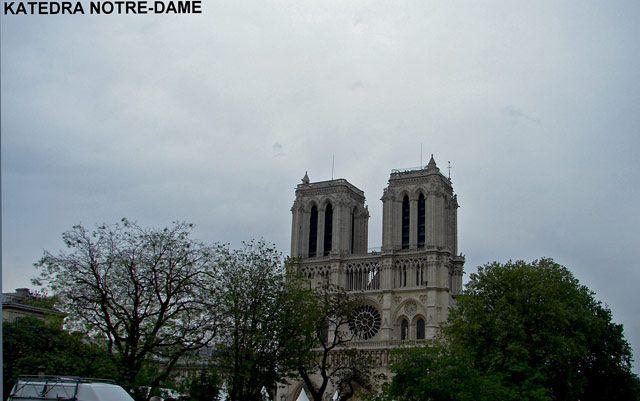 Zdjęcia: Paryż-Katedra Notre - Dame , Paryż , Katedra Notre - Dame , FRANCJA