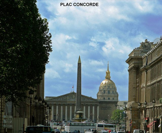 Zdjęcia: Place de la Concorde , Paryż, Place de la Concorde , FRANCJA