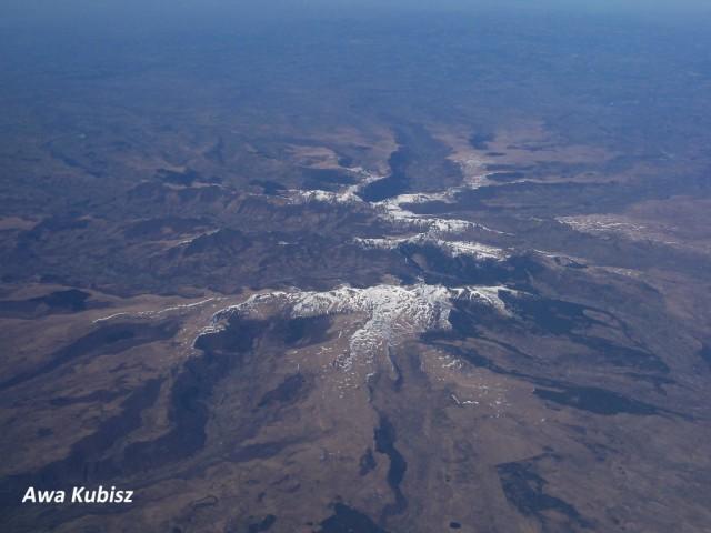 Zdjęcia: Francja, Południe, Góry z lotu ptaka, FRANCJA