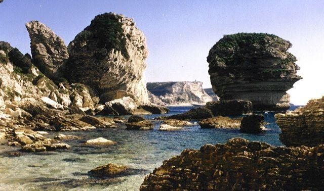Zdjęcia: Bonifaccio, Korsyka, Korsykańska plaża, FRANCJA