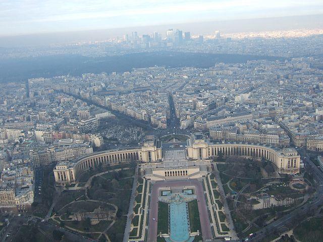 Zdjęcia: Paryż, Paryż, widok z wieży Eiffla, FRANCJA