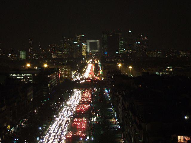 Zdjęcia: Paryz, Francja, widok na la defense, FRANCJA