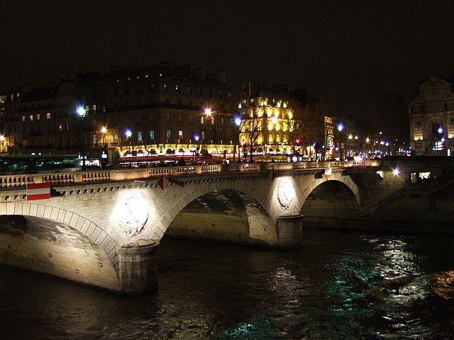Zdj�cia: pary�, Francja, Paryz noc�, FRANCJA