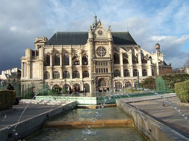 Zdj�cia: Pary�, francja, Saint-Eustache , FRANCJA