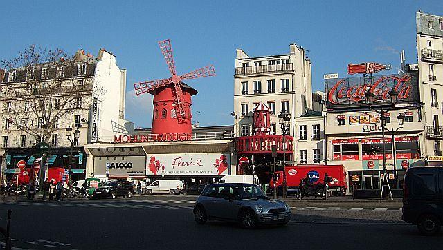 Zdjęcia: Paryz, Moulin Rouge, FRANCJA