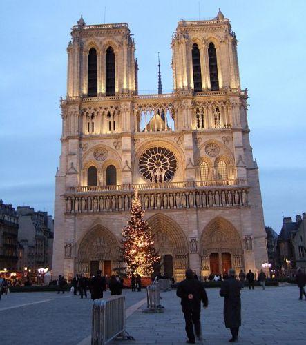 Zdjęcia: Paryż, Notre Dame, FRANCJA