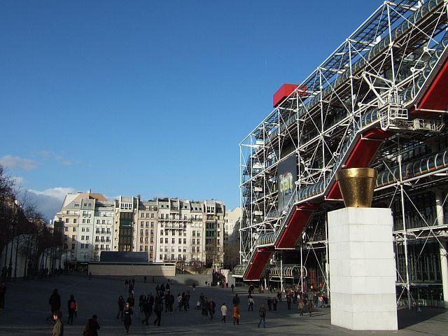 Zdjęcia: Paryz, Centrum Pompidou , FRANCJA
