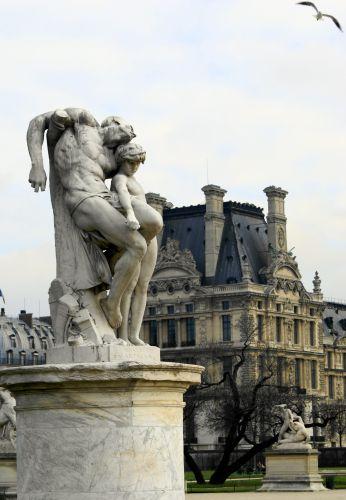 Zdjęcia: Paryż, Louvre, FRANCJA