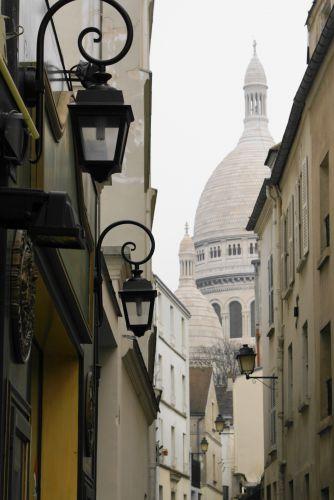 Zdjęcia: Paryż, uliczki Montmartre..., FRANCJA