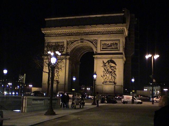 Zdjęcia: Paryż, Łuk Triumfalny, FRANCJA