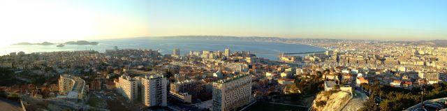 Zdjęcia: Marsylia, prowansja, marsylianska panorama 2, FRANCJA