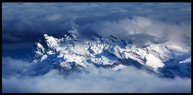 Zdjęcia: Masyw Mont Blanc, Alpy Graickie, Tam jest łatwiej...życ, FRANCJA