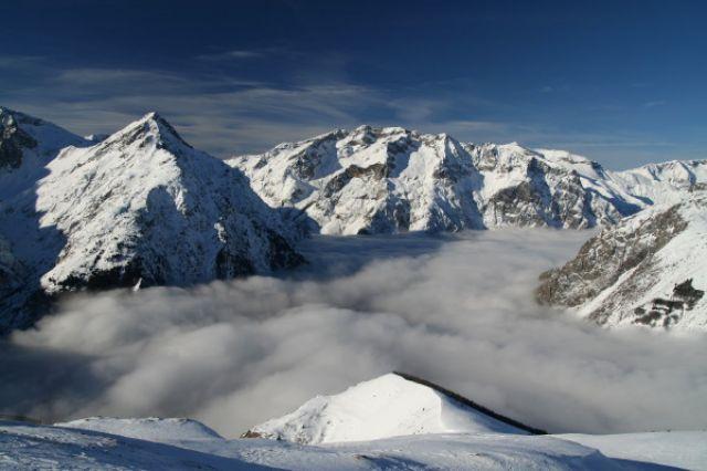 Zdjęcia: les Deux Alpes, Alpy zima, FRANCJA