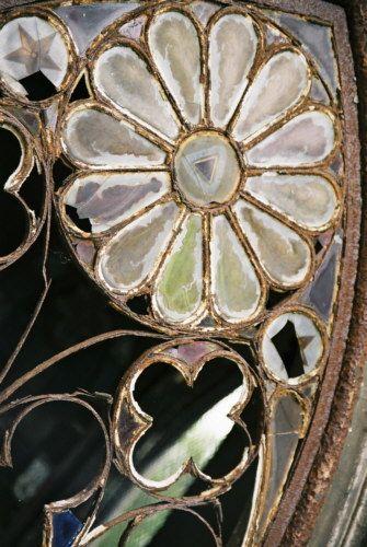 Zdjęcia: Paryż, Cmentarz Pere Lachaise, okno, FRANCJA