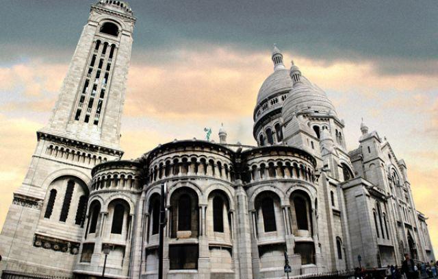 Zdjęcia: Bazylika Sacre-Coeur, Bazylika Sacre-Coeur, FRANCJA