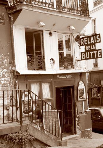 Zdjęcia: Montmartre, Kafejka na Montmartre, FRANCJA