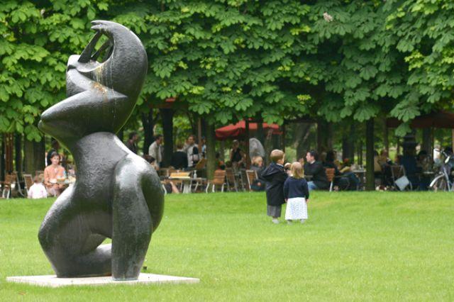 Zdj�cia: Jardin des Tuileries, Park des Tuileries, FRANCJA