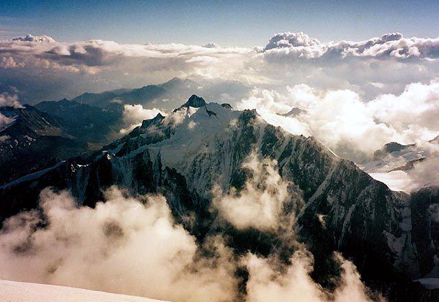 Zdjęcia: Mont Blanc, Chamonix, Z dachu Europy ..., FRANCJA