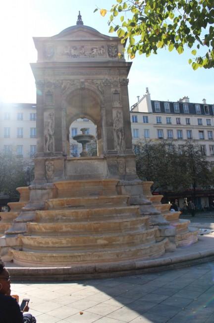 Zdjęcia: Paryż, Ile-de-France, Fontanna niewiniątek, FRANCJA