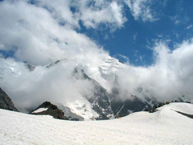 Zdjęcia: Lodowtec Tete Rousse, Masyw Mont Blanc, Lodowtec Tete Rousse, FRANCJA