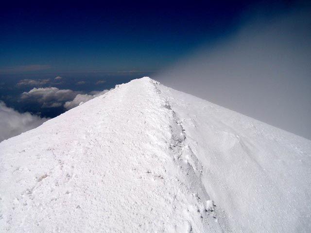 Zdjęcia: Szczyt Mont Blanc 4808m n.p.m., Masyw Mont Blanc, Upragniony Szczyt, FRANCJA
