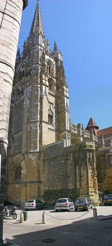 Zdj�cia: Bayonne, Akwitania, Katedra, FRANCJA