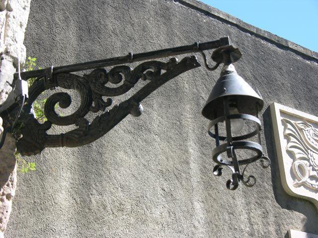Zdjęcia: Bayonne, Akwitania, Lampa, FRANCJA