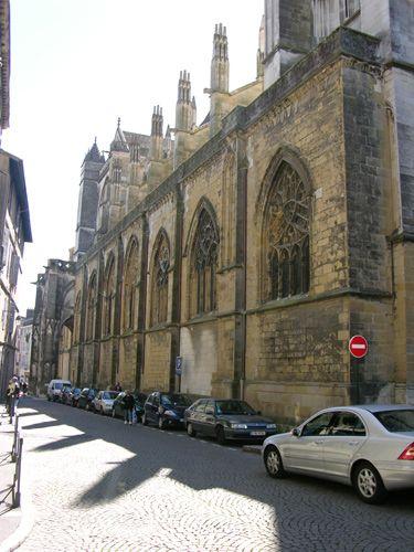 Zdjęcia: Bayonne, Akwitania, Katedra, FRANCJA