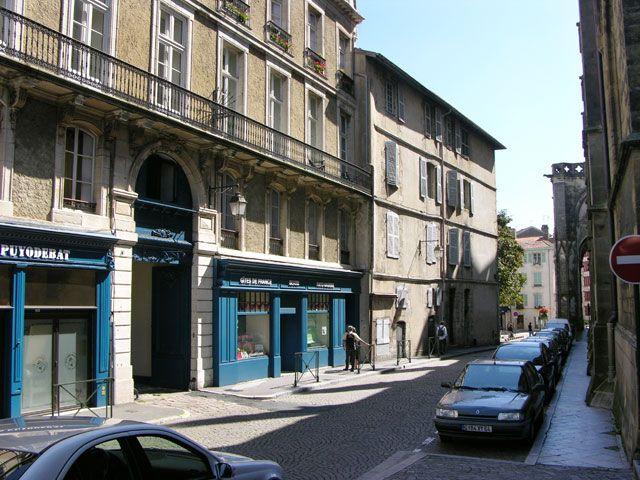 Zdjęcia: Bayonne, Akwitania, Zaułek, FRANCJA