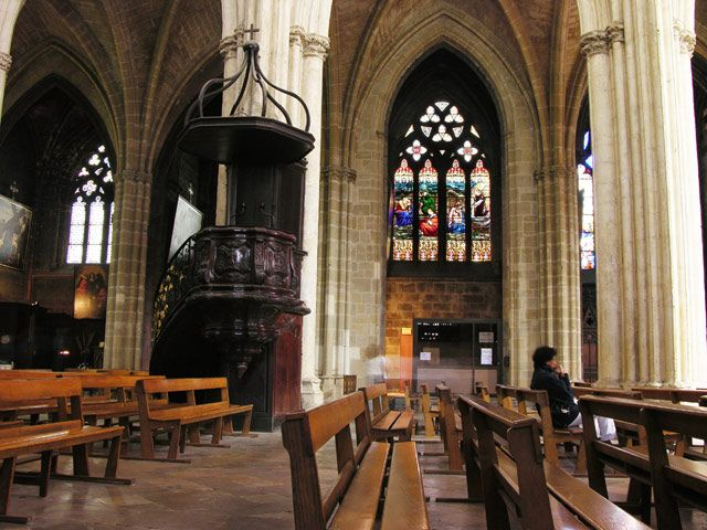 Zdjęcia: Bayonne, Akwitania, W katedrze, FRANCJA