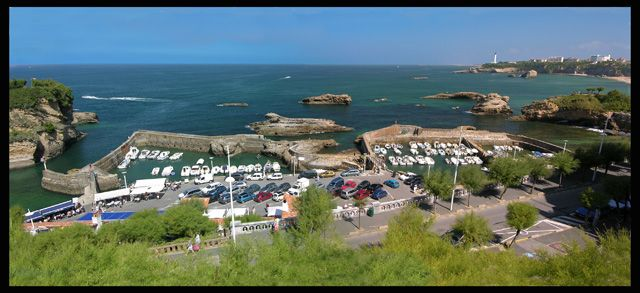 Zdjęcia: Biarritz, Akwitania, Port jachtowy, FRANCJA