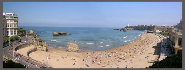Zdj�cia: Biarritz, Akwitania, Pla�a, FRANCJA