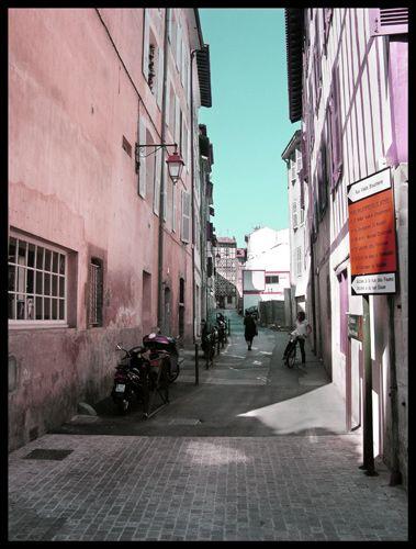 Zdjęcia: Bayonne, Akwitania, Cukierkowa ulica, FRANCJA