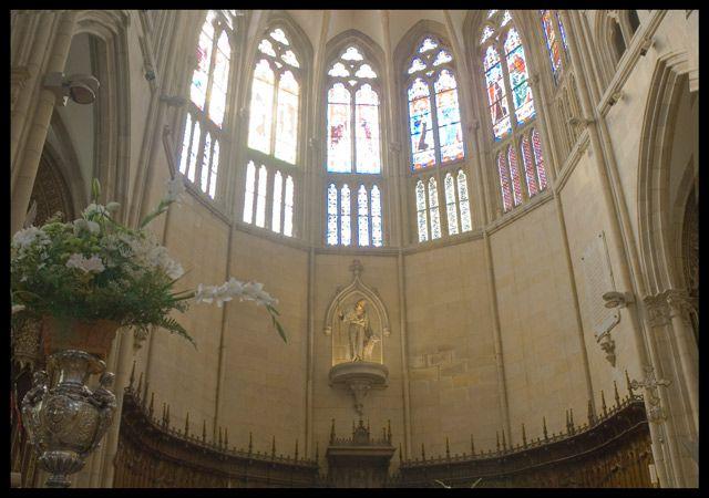 Zdjęcia: Biarritz, Akwitania, W katedrze, FRANCJA