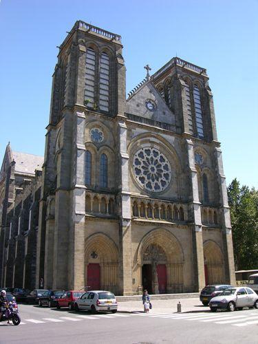 Zdjęcia: Bayonne, Akwitania, Kościół, FRANCJA