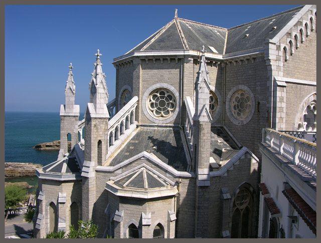 Zdjęcia: Biarritz, Akwitania, Kościół, FRANCJA
