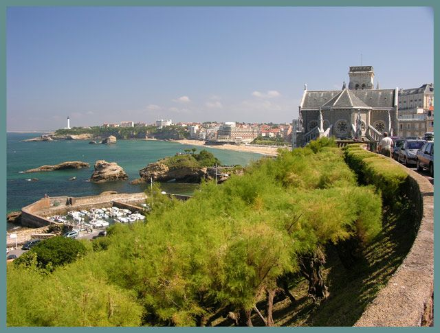 Zdjęcia: Biarritz, Akwitania, Nabrzeże, FRANCJA